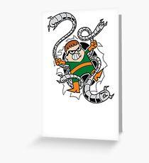 Dexter Octopus Greeting Card