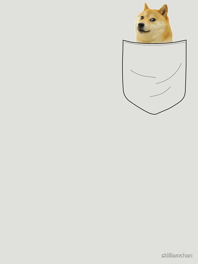 pocket doge | Unisex T-Shirt