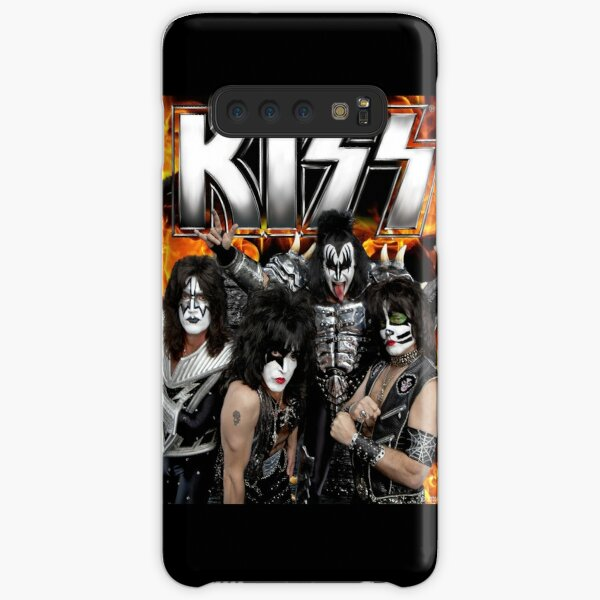 KISS with Logo and band Samsung Galaxy Snap Case