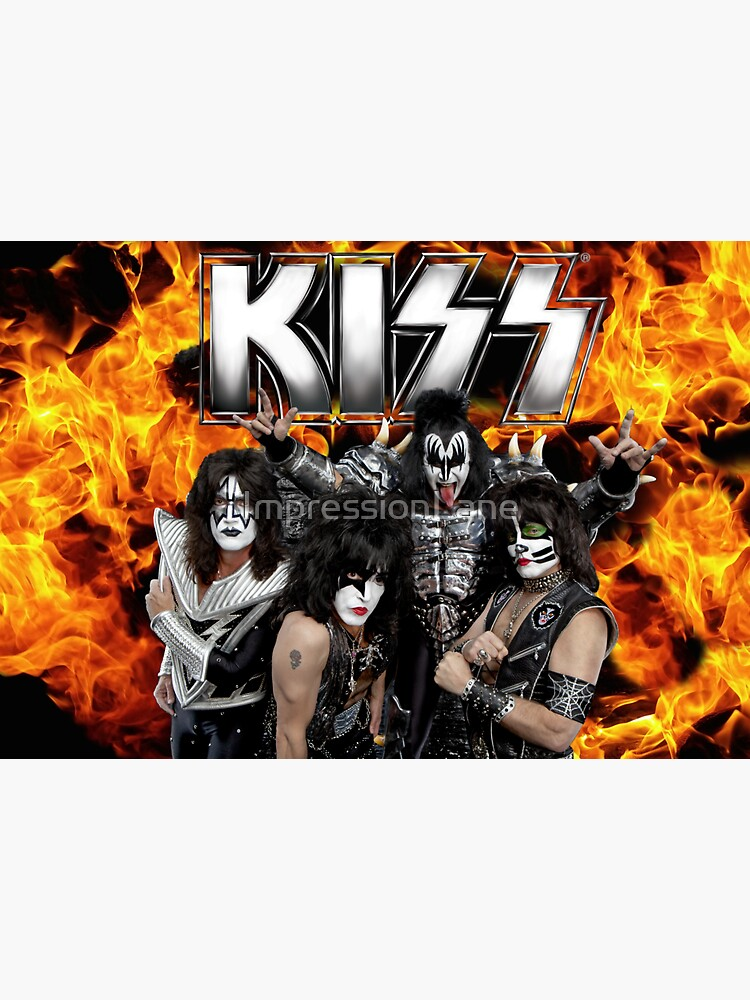 KISS with Logo and band by ImpressionLane
