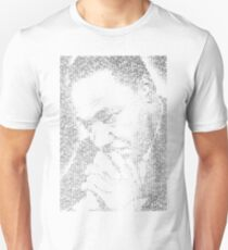 Martin Luther King Jr. - MLK Typographic Unisex T-Shirt