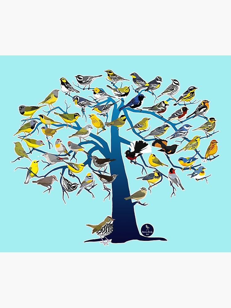 Warbler Tree by BennuBirdy
