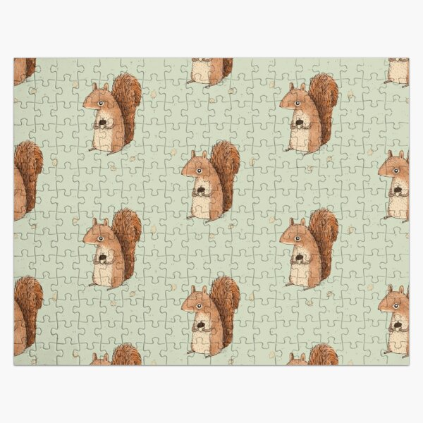 Sarah the Squirrel Jigsaw Puzzle