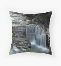 Silky Falls Throw Pillow