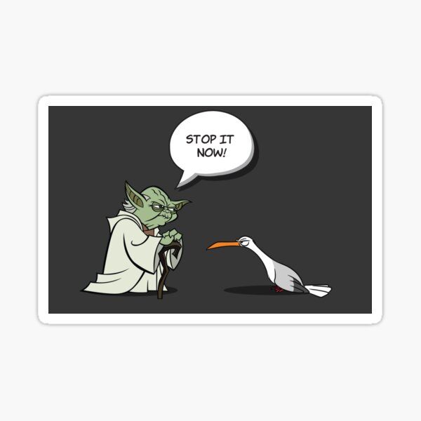 seagulls stop it now I Sticker