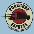 Planet Porkchop Express by gorillamask