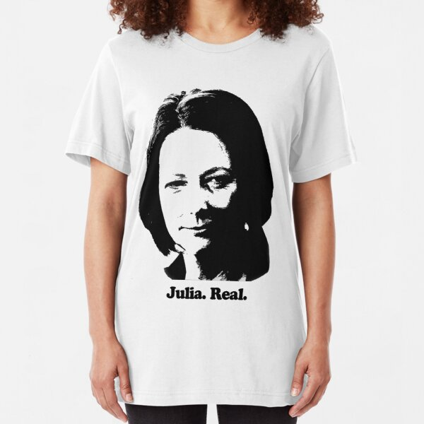 Julia. Real. Slim Fit T-Shirt