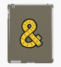 Ampersand Measuring Tape iPad Case/Skin