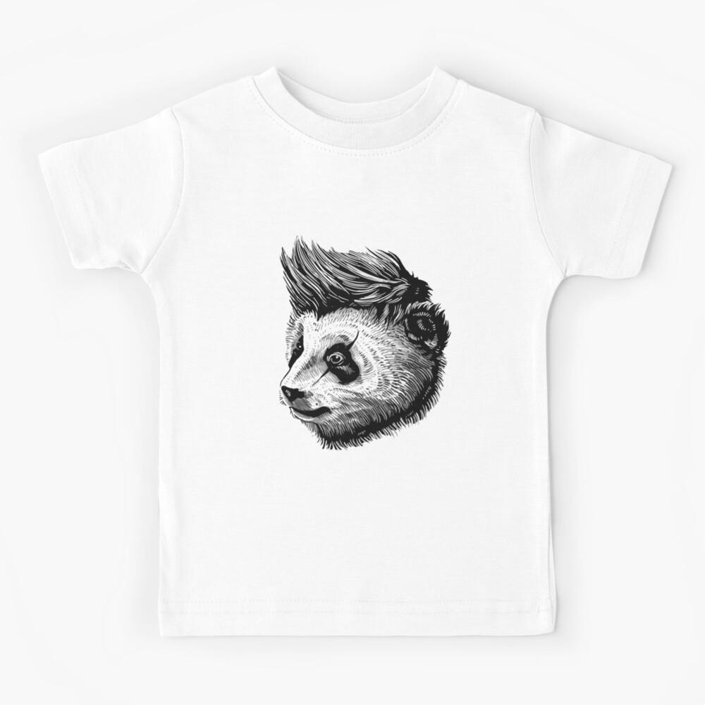 funky panda - Animal Theme Design Suitable for Men and Women Kids T-Shirt