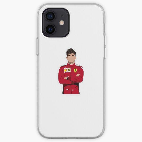Charles Leclerc pour Ferrari Coque souple iPhone
