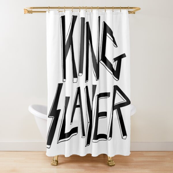 KingSlayer Cortina de ducha