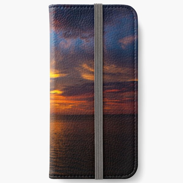 Sunset Vibes iPhone Wallet