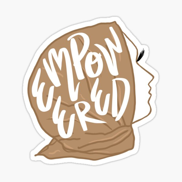 Empowered Hijabi Sticker