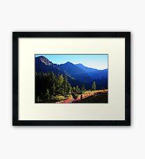 Shadowy Highwood Framed Print
