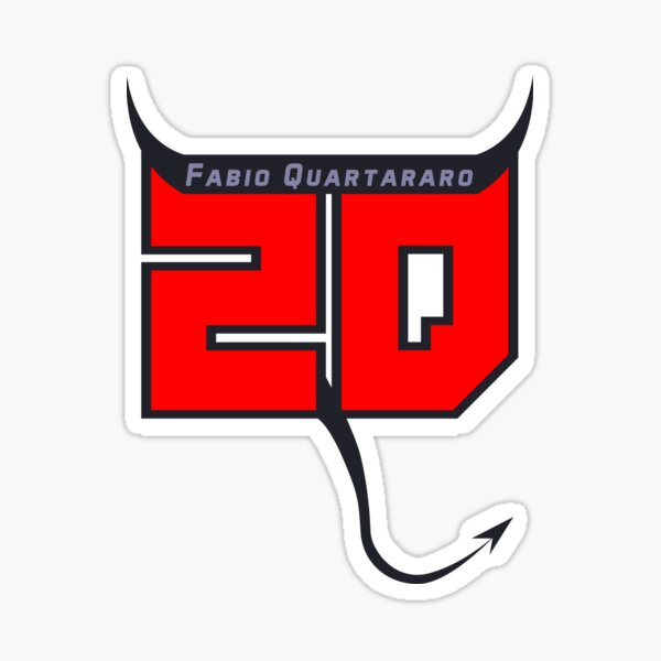 Fabio Quartararo # 20 El Diablo Sticker