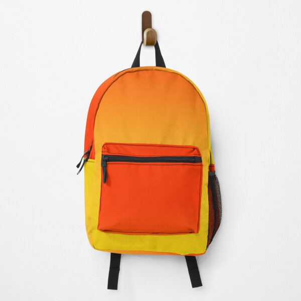 OMBRE GRADIENT ORANGE RED AND YELLOW ONE OF 100 CHIC OMBRE 2 TONE DESIGNS ON OZCUSHIONS Backpack