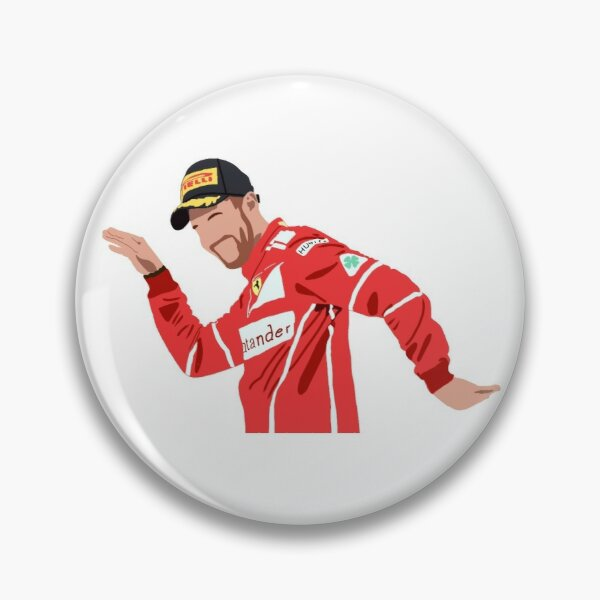 Célébration du podium de danse Sebastian Vettel Badge