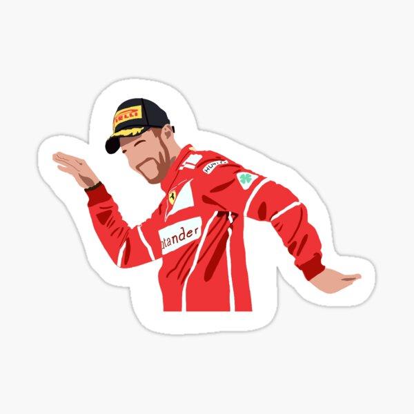 Sebastian Vettel Tanzpodestfeier Sticker