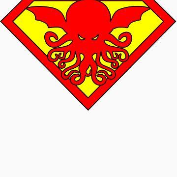 Super Cthulhu by DavidAyala
