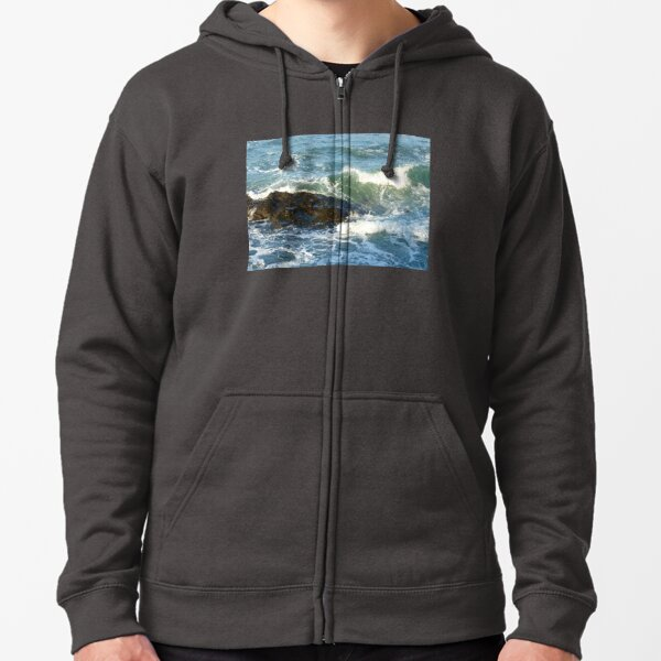 Late afternoon light from Tongue Point Zipped Hoodie