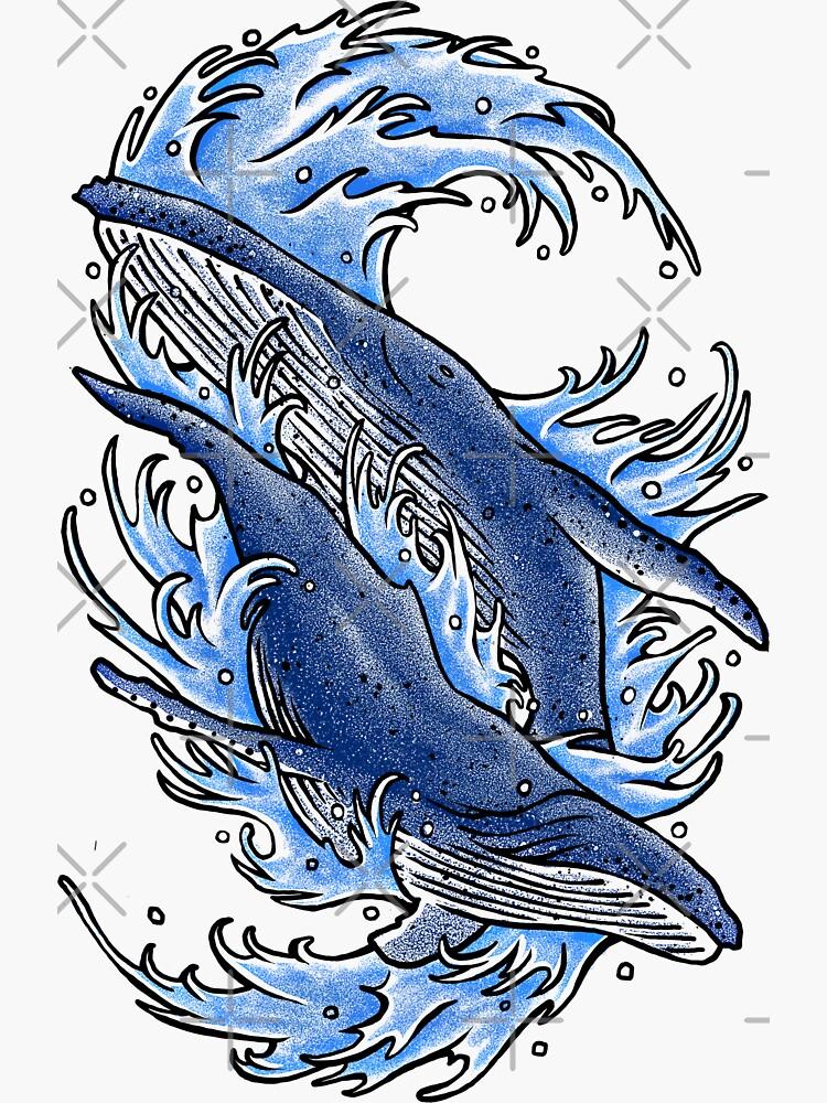 Humpback whales by barmalisiRTB