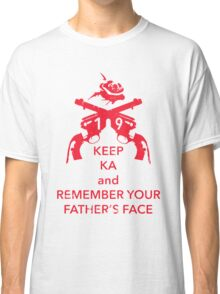 Keep KA - red edition Classic T-Shirt