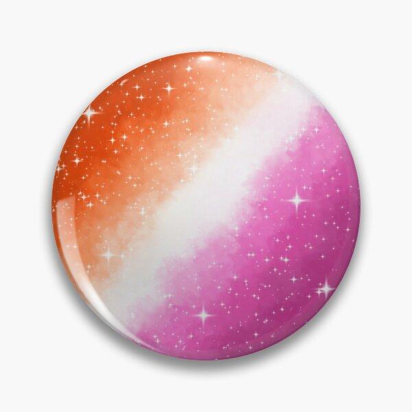 Lesbian Pride Flag Galaxy Pin Pin