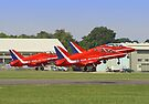 Rotate!!  - The Red Arrows - Dunsfold 2013 by Colin  Williams Photography
