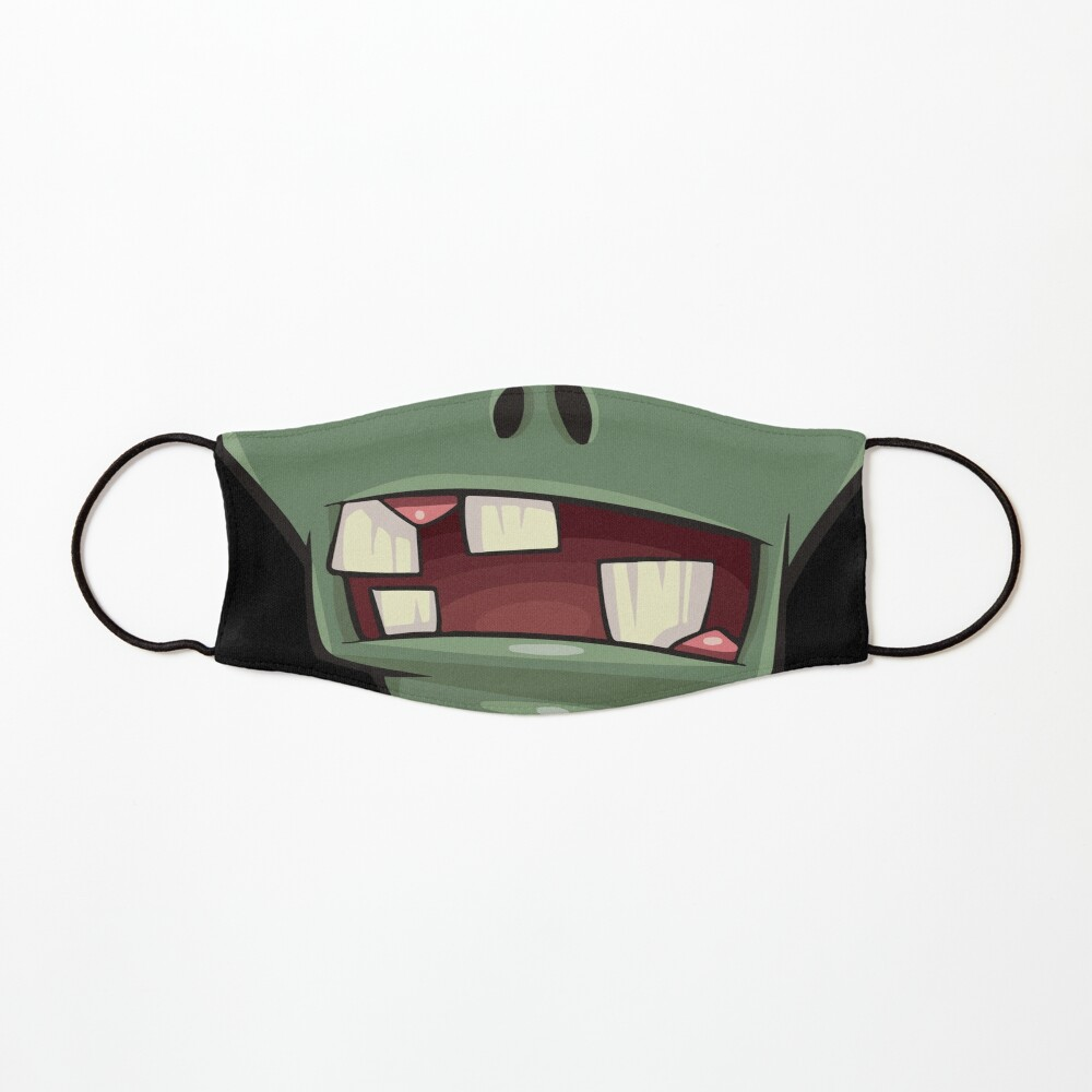Zombie teeth mouth - face masks design Mask