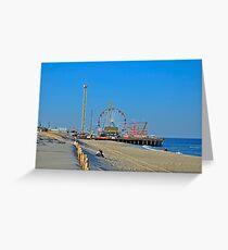 Summer Fun - Funtown Pier Seaside Heights NJ Greeting Card