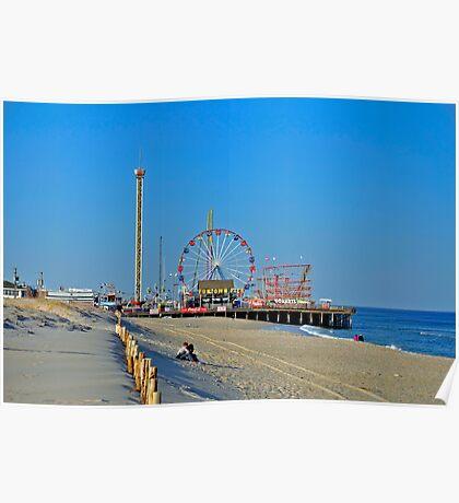Summer Fun - Funtown Pier Seaside Heights NJ Poster