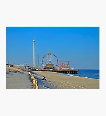 Summer Fun - Funtown Pier Seaside Heights NJ Photographic Print