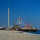 Funtown Pier - As It Was by Paul Gitto