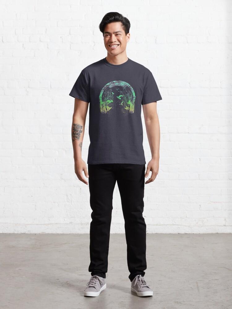 Alternate view of headphone nature Classic T-Shirt