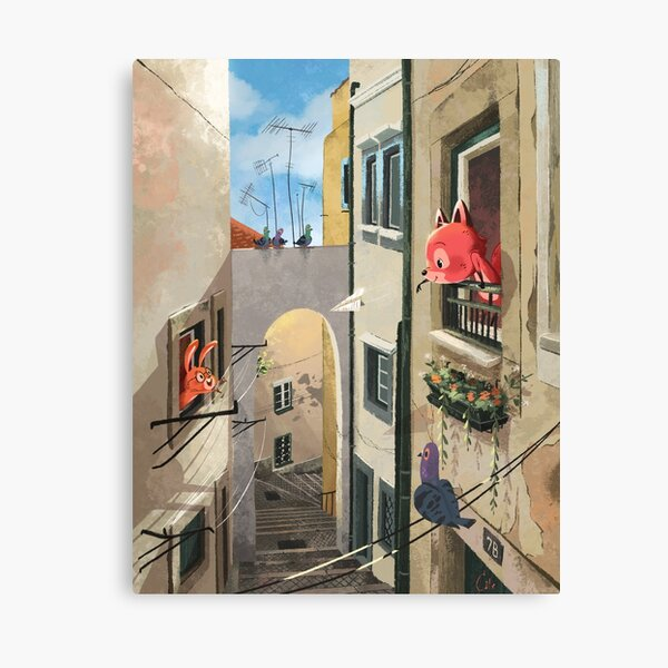 Paper Flights Canvas Print
