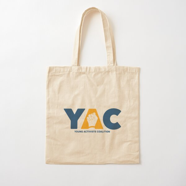 YAC Logo Color Cotton Tote Bag