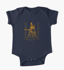 Exterminate Classic Doctor Who Dalek Graphic One Piece - Short Sleeve