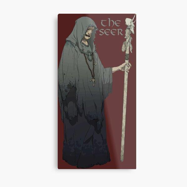 the viking seer  Metal Print