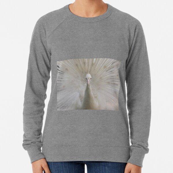 Albino Peacock Lightweight Sweatshirt
