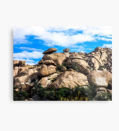 The View From My Car In Arizona 3 Metal Print