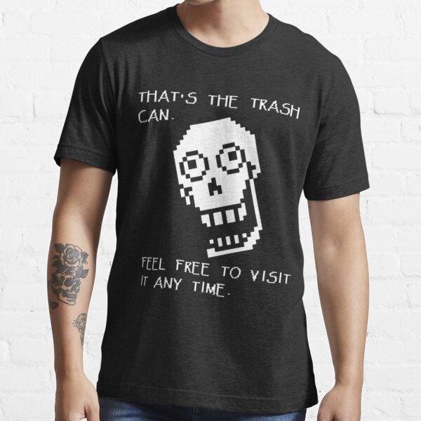 Undertale - Papyrus SHIRT - Trash Can Essential T-Shirt