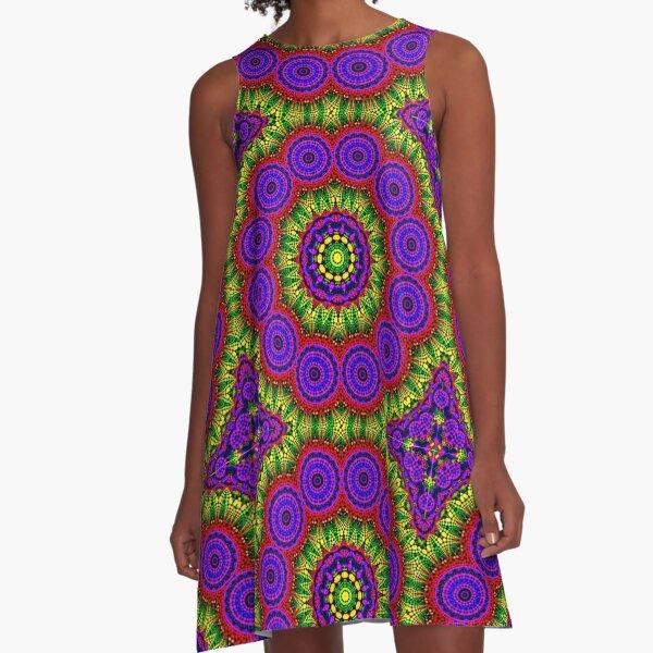 AROUND TWELVE A-Line Dress