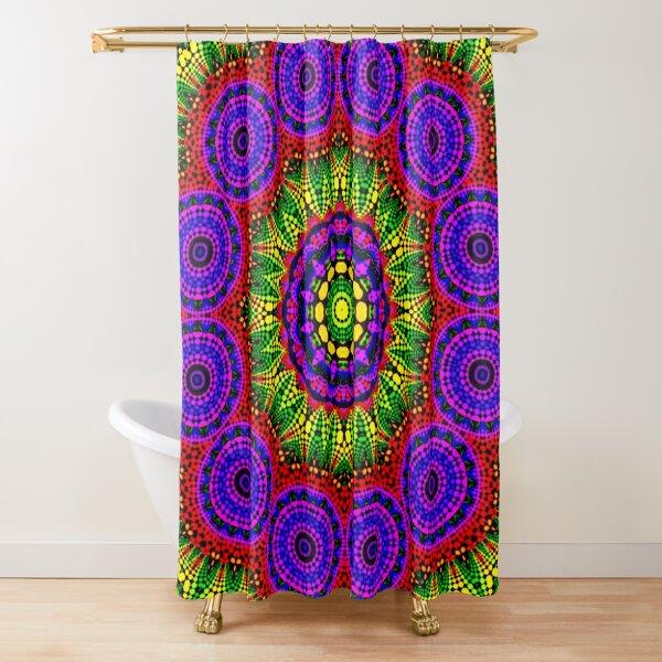 AROUND TWELVE Shower Curtain