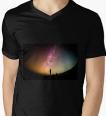 Reach for the stars Mens V-Neck T-Shirt
