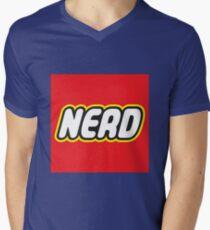 Playful Nerd  Men's V-Neck T-Shirt