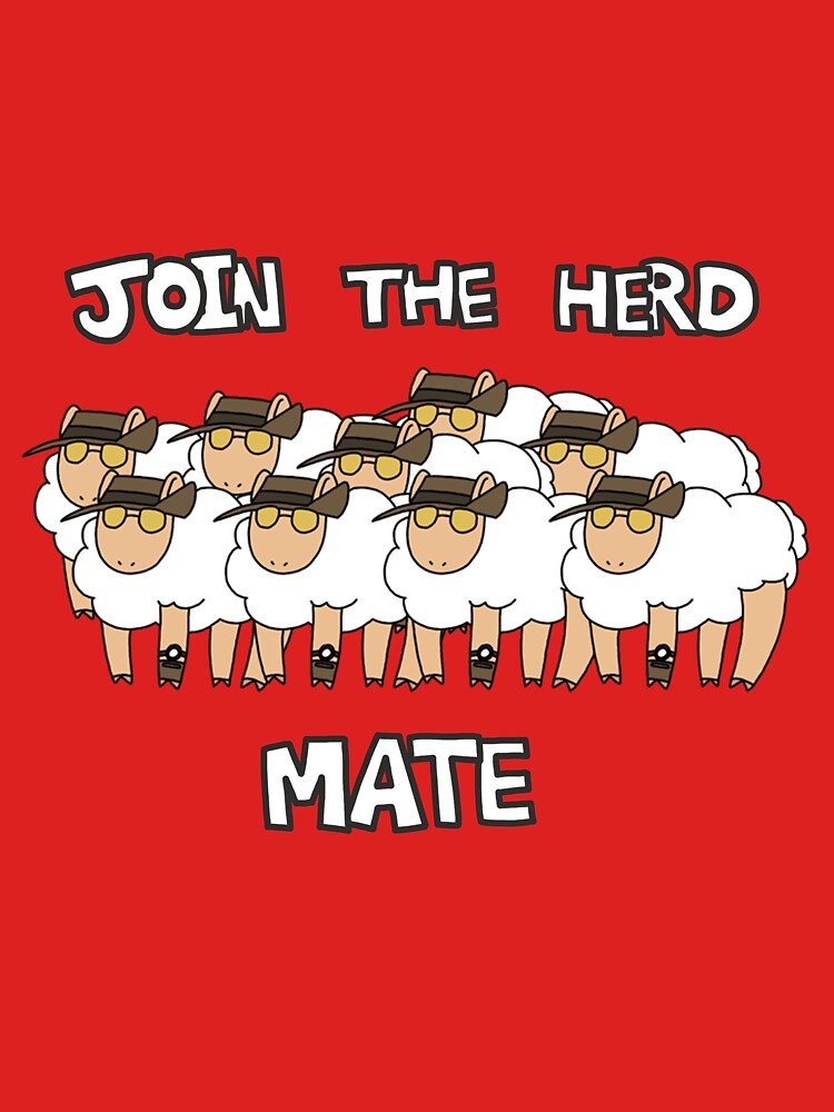 Sneep - Join The Herd Mate | Unisex T-Shirt