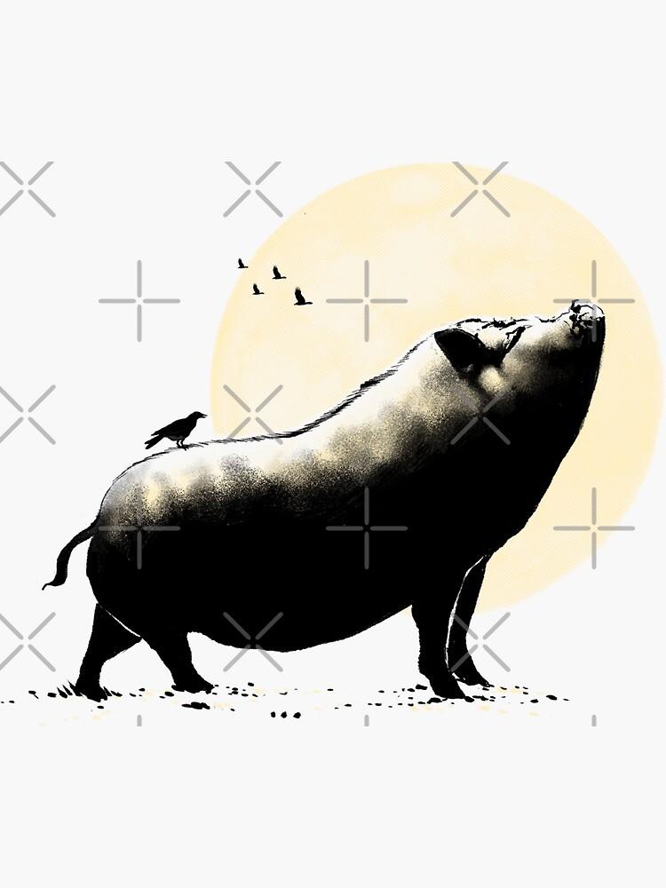 Barking pig by barmalisiRTB