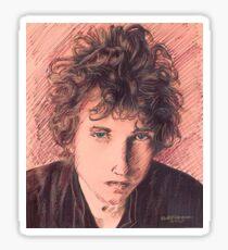 BOB DYLAN PORTRAIT Sticker