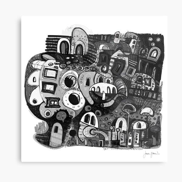 Yarn Of The Bones Metal Print
