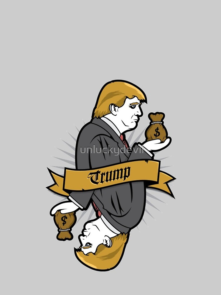 Donald Trump Card by unluckydevil